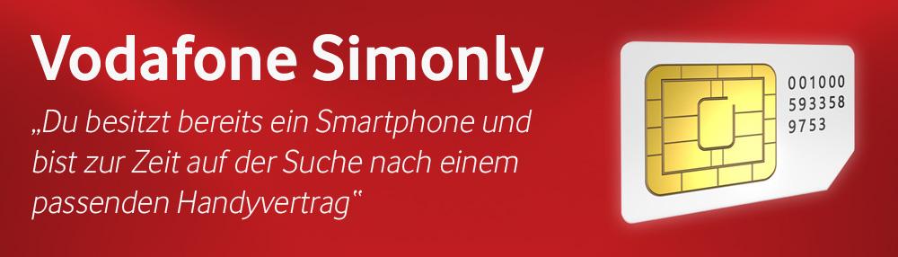 Vodafone Handyvertrag ohne Handy