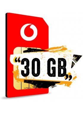Simonly Vodafone Young M Logo