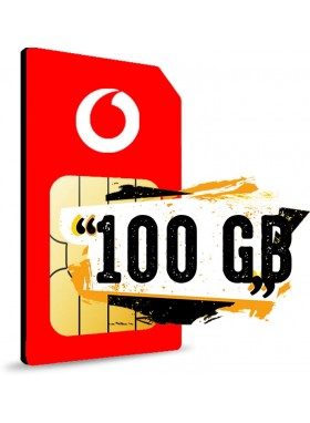 Simonly Vodafone RED M Logo