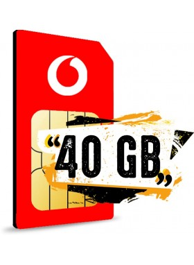 Simonly Vodafone RED L Logo