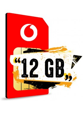 Simonly Vodafone RED S Logo