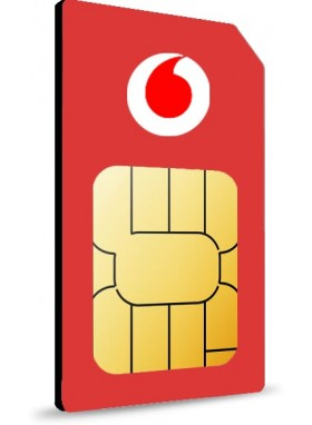 Simonly Vodafone RED XL Unlimited Logo